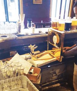 Mantenimiento de dispensadores de cerveza
